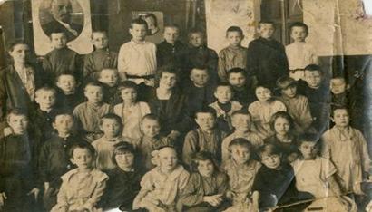 Школа №17 г. Владимира. 1-й класс. 1.09.1927 г.