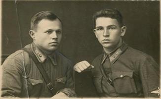 Силантьев В.В. перед поступлением в летную школу. 1938 г.