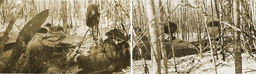 ЛаГГ-3 В.В. Силантьева. Февраль 1942 г.