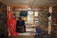 Экспозиция музея «Доронино», посвященная обороне Москвы в октябре 1941 года и советским летчикам.